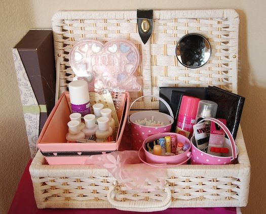 bridal essentials basket