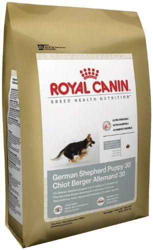 Royal Canin Dry Dog Food German Shepherd Puppy 30 Formula 30 Pound