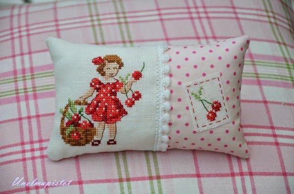 Unelmapistot: Kirsikoita ja ruusuja/Chrries and roses