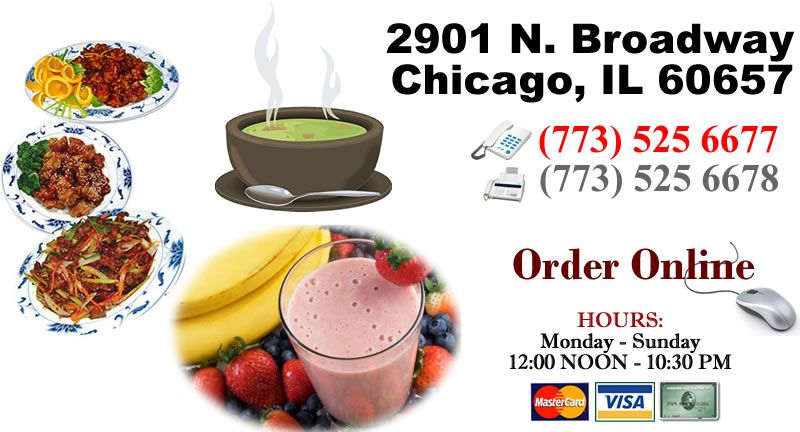 Yummy Yummy Asian Cuisine 2901 N Broadway Chicago Il Chinese Food Delivery Order Chinese Food Asian Cuisine