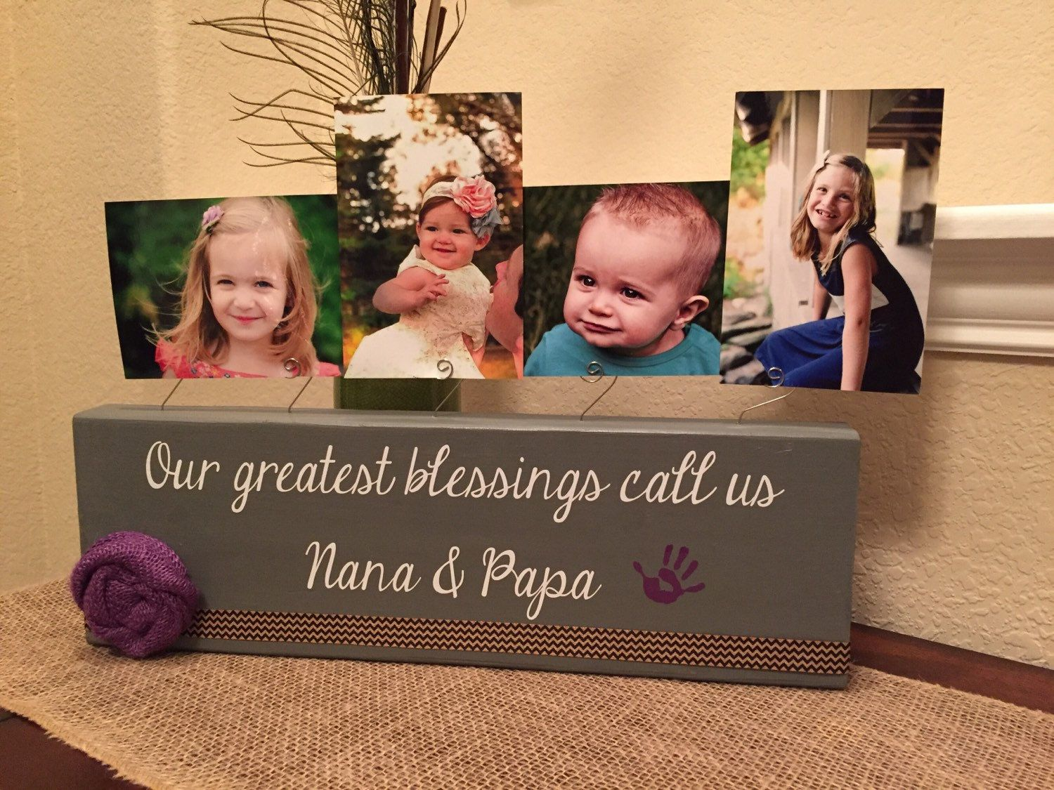 Christmas Gift Personalized Gigi Picture Frame Gift For Grandma Nana
