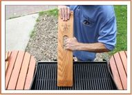 The Great Scrape Big Woody Grill Cleaning Tool $19.95