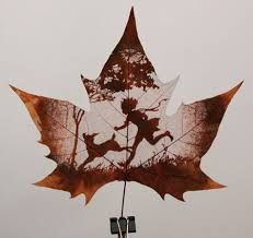 Carved Leafs  popular in China, India & Pakistan