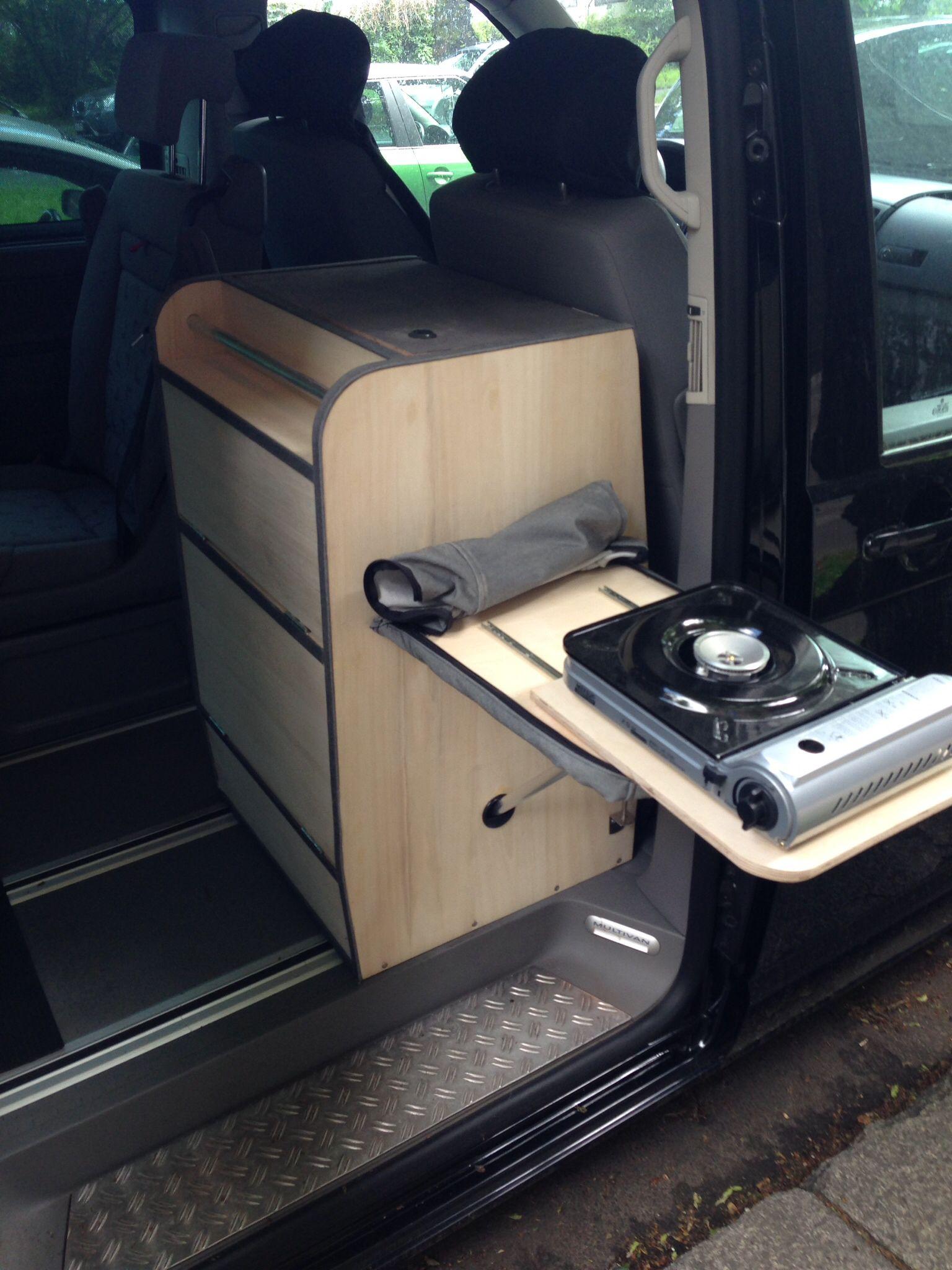 Vw T5 Kuchenblock Interior Vans Camper Vw T5 Camper Van