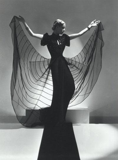 Model Helen Bennett photographed by Horst P. Horst, 1939.