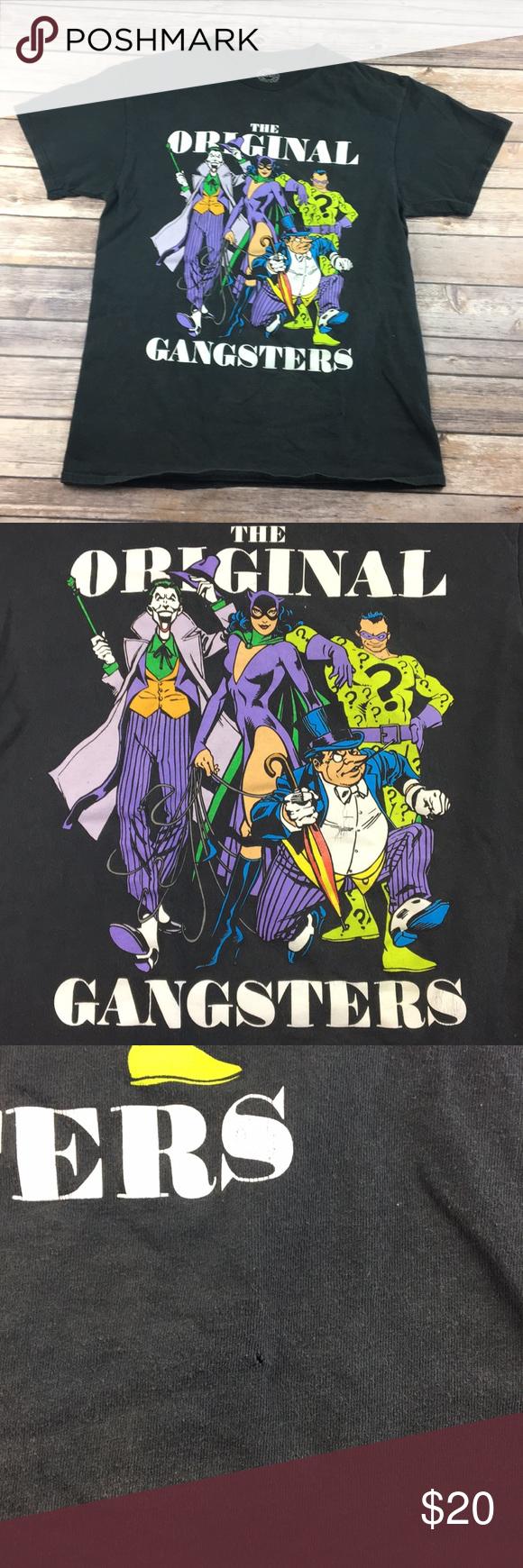 Gangster flannel shirts   dc comics original gangsters graphic tee  My Posh Picks
