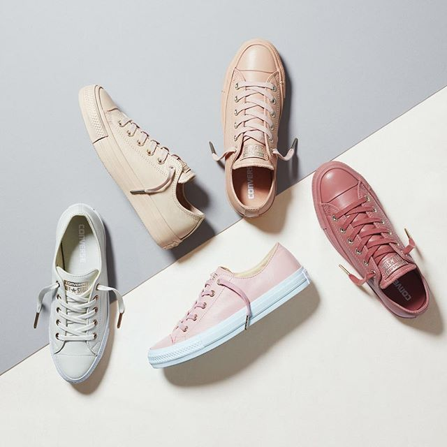 3e7d8b6e0af0 Neutral and beautiful  get your kicks with  Converse s Holiday Nude Gemma  Collection