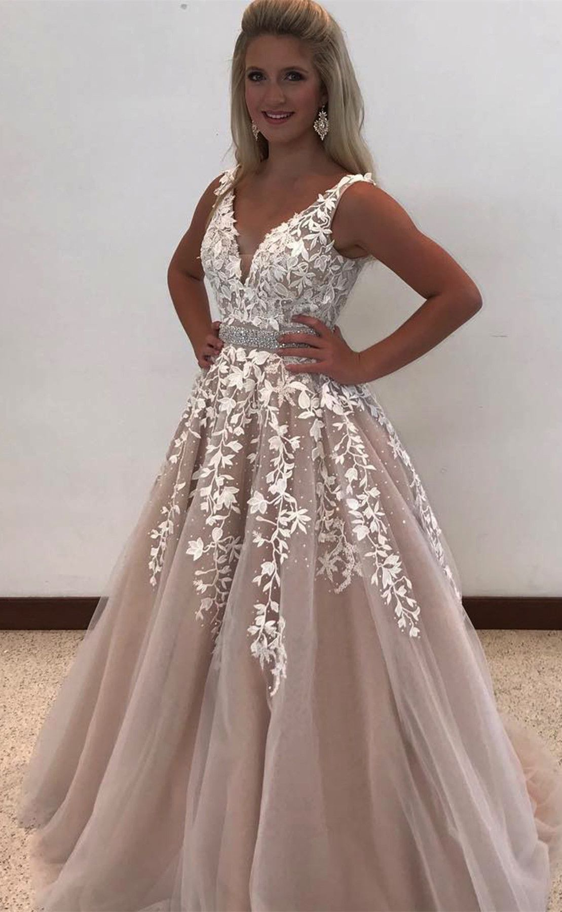 2018 prom dress, classic prom dress, long prom dress, party dress ...