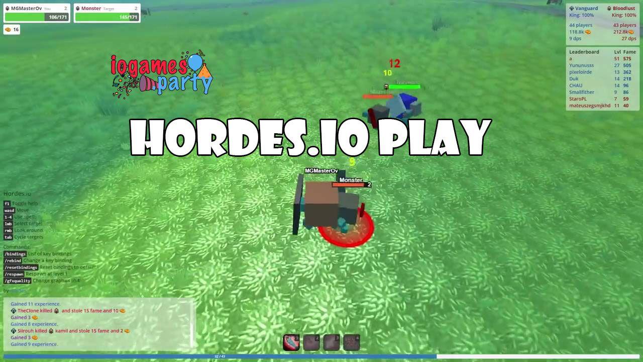 Hordesio play fun games play games