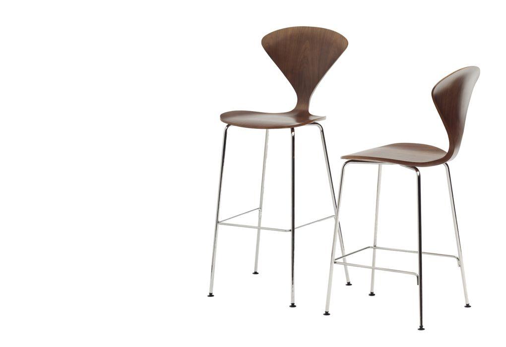Cherner Bar Stool 1958 Designed By Norman Cherner Manufactured By