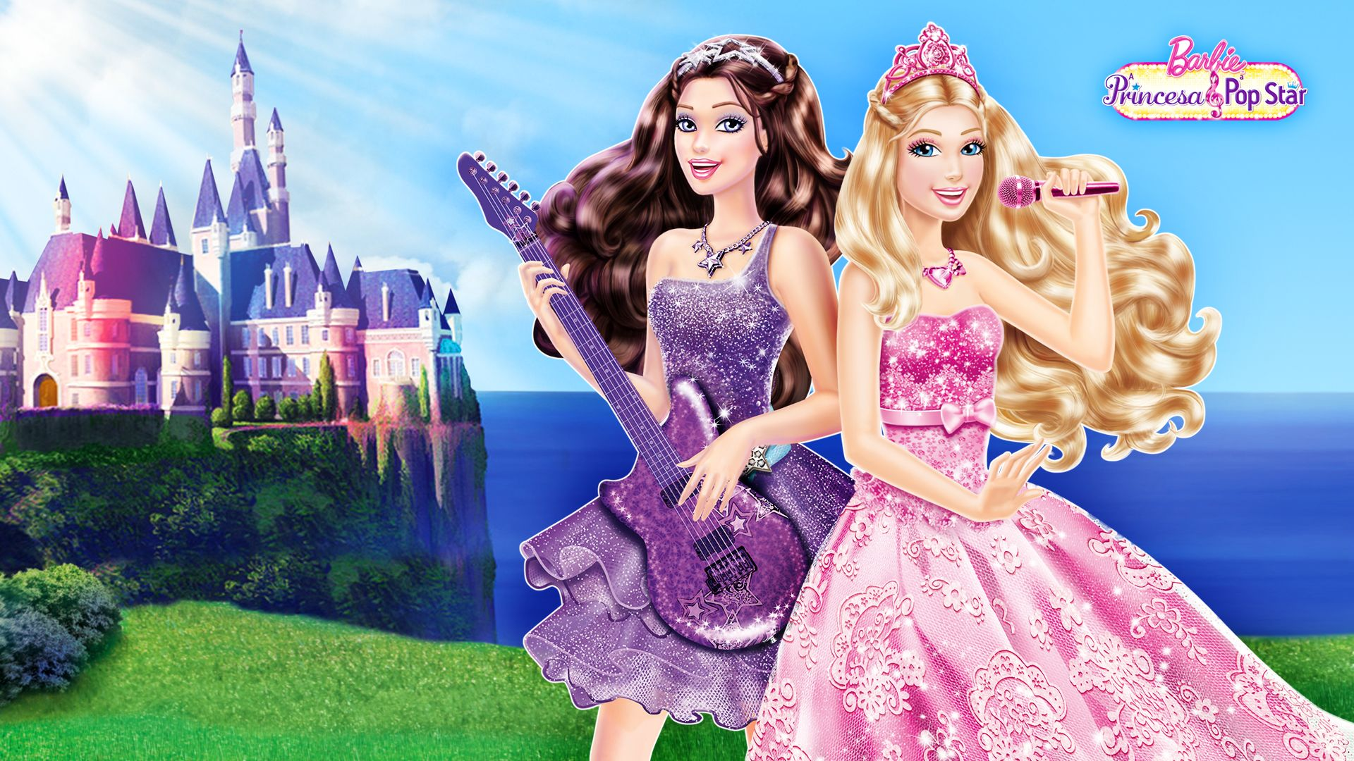 Barbie Movies PaP Wallpaper For Background | barbie estrella pop ...