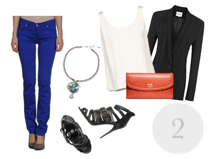 the Colored Skinny Jean look 2