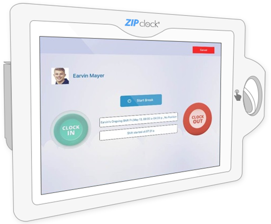 Zip Clock Business rules, Time clock, Tracking software