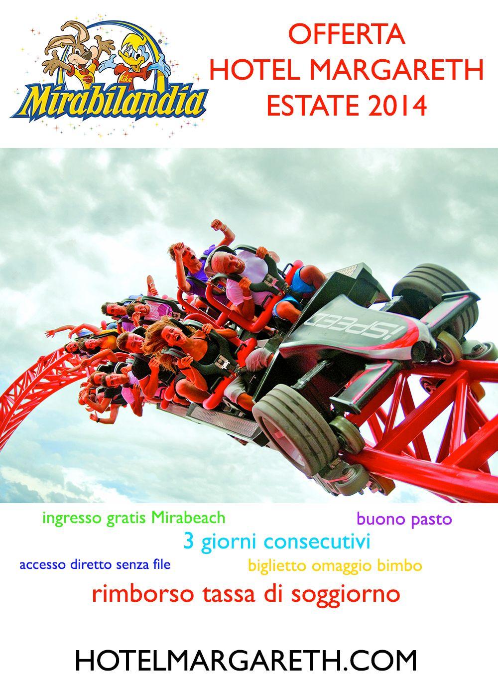 Offerta Mirabilandia 2014 Soggiorno Hotel Margareth Riccione ...