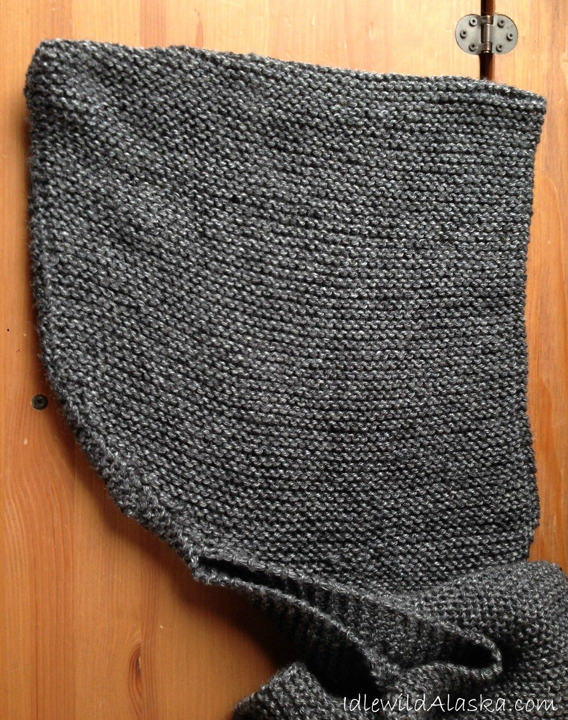 Free Hooded Scarf Knitting Pattern | Pinterest | Tejido