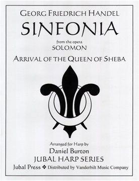 Harp Sheet Music :: Handel, Sinfonia (Arrival of the Queen