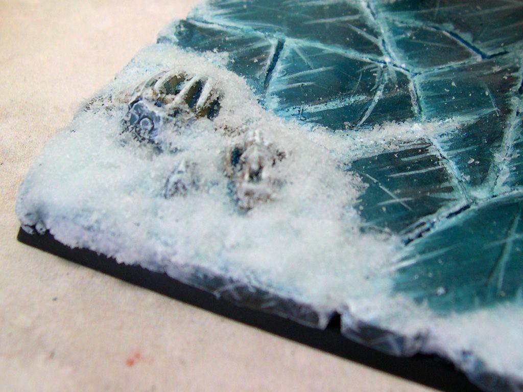 faire de la glace avec du platre tuto pour maquette. Black Bedroom Furniture Sets. Home Design Ideas