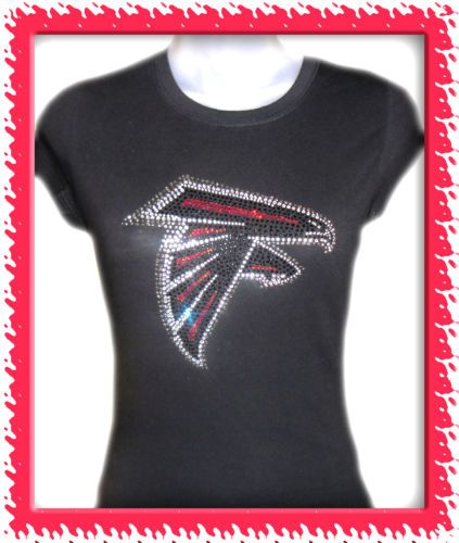 1d2c983e Atlanta Falcons RHINESTONE SHIRTS $25 | Crystal, Bling, Rhinestone ...