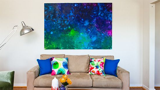 Canvas Painting Ideas Better Homes And Gardens Wall Art