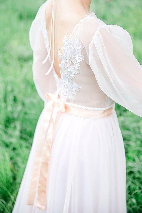Romantic vintage wedding inspiration with a fairytale wedding dress ...