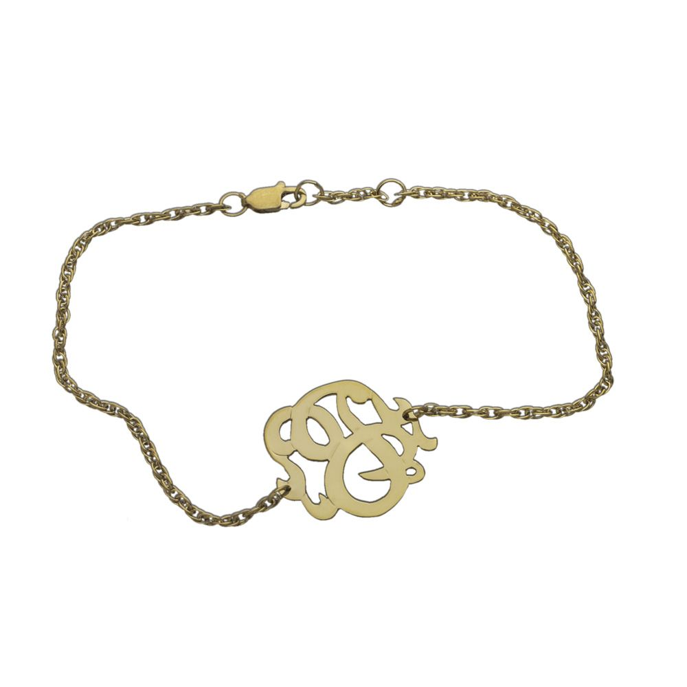 Small swirly initial pendant bracelet want an initial pendant soo small swirly initial pendant bracelet want an initial pendant soo bad so elegant mozeypictures Images