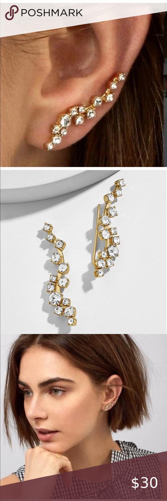 BaubleBar Farah Crawlers Earrings