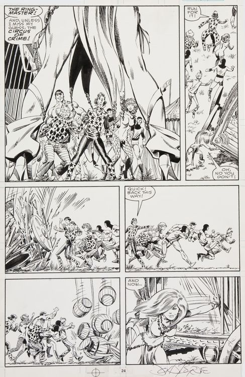 johnbyrnedraws:  Sensational She-Hulk #1, page 24 by John Byrne...