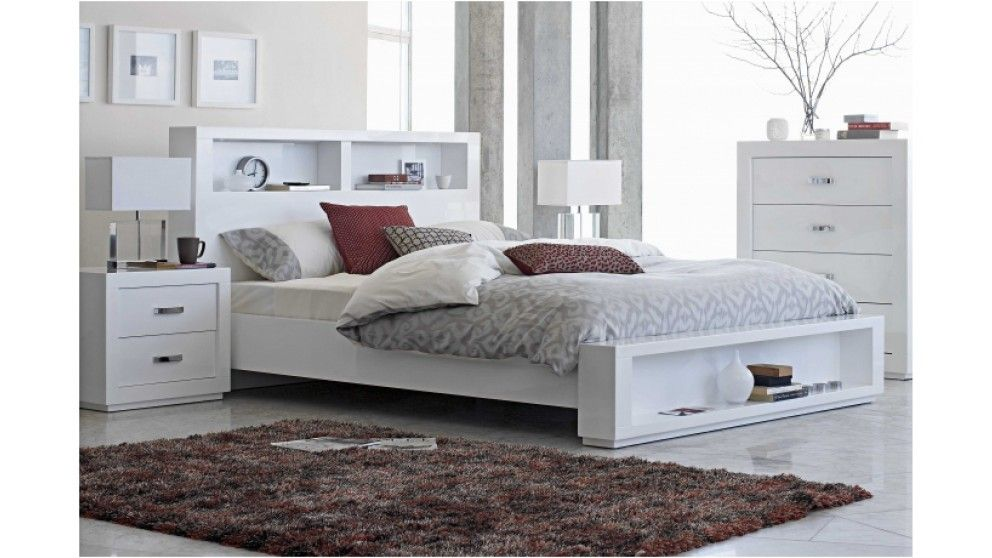 Kids Bedroom Harvey Norman summit queen bed - beds & suites - bedroom - beds & manchester