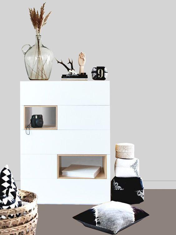 Cajonera minimalista Cajonera de diseño Mueble de diseño Mueble - mueble minimalista
