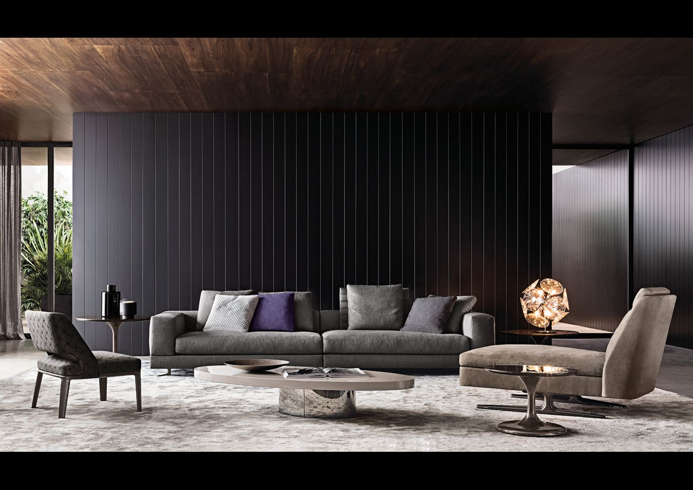 Mobili minotti ~ Minotti freeman sofa possible floor plan minotti