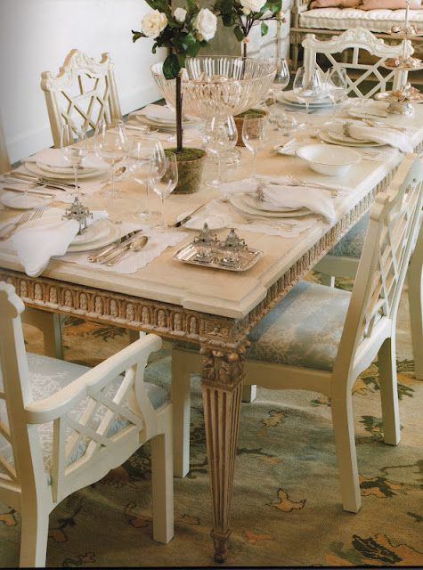 Broadening Tastes Then And Now Dining Rooms With Images White Dining Room