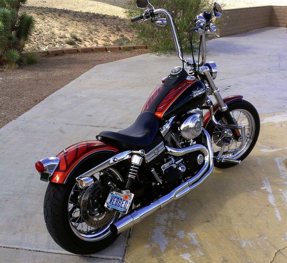 Harley Davidson 2006 Street Bob Custom Harley Bikes Harley Sportster 1200 Harley Davidson Trike [ 920 x 1006 Pixel ]
