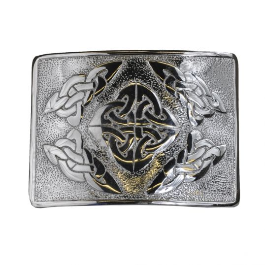 Trinity Knot Buckle | Celt Stuff | Trinity knot, Celtic knot designs