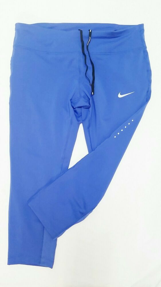 Nike Womens Power Epic Run Compression Cropped Leggings ...