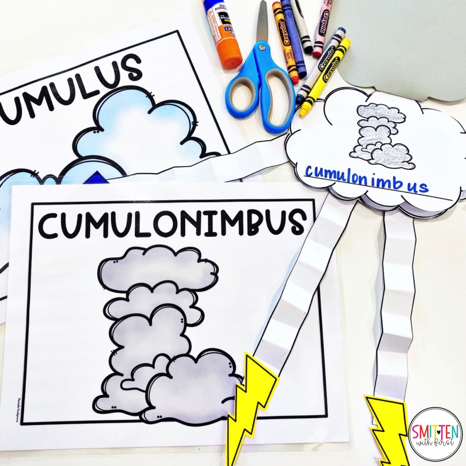 Cloud And Weather Activities For Kindergarten First Grade