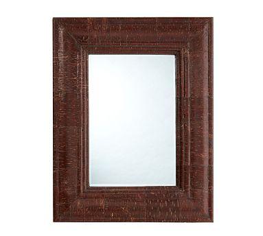 Bark-Wrapped Mirror #potterybarn