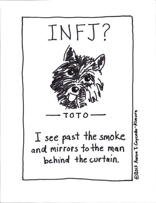 Pin on INFJ Cartoons