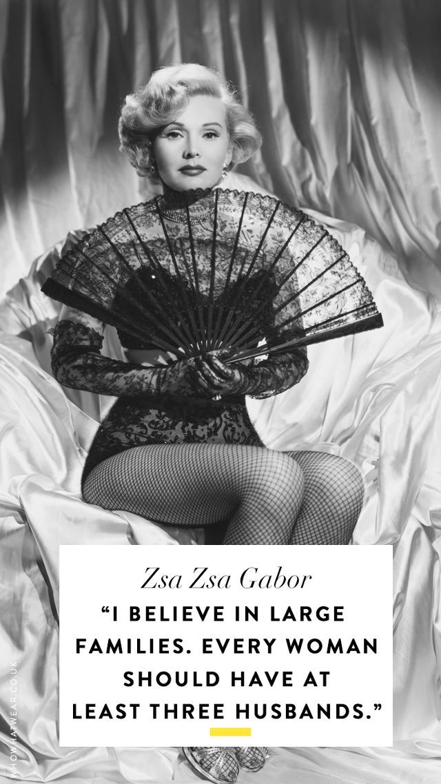 Zsa Zsa Gabor Quotes Enchanting Znalezione Obrazy Dla Zapytania Zsa Zsa Gabor Quotes  Quotes