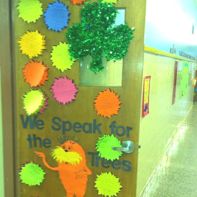 Lorax theme door | Classroom Door | Pinterest | Lorax ...