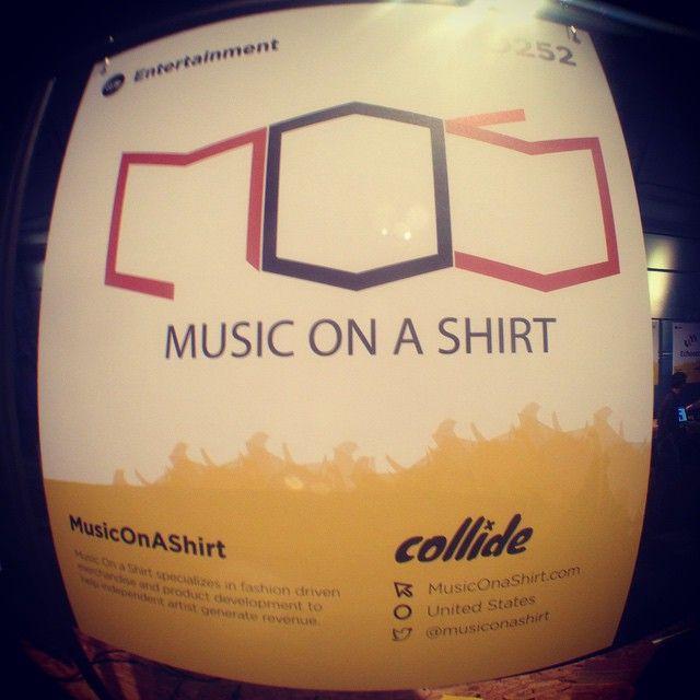 #collisionconf #Musiconashirt
