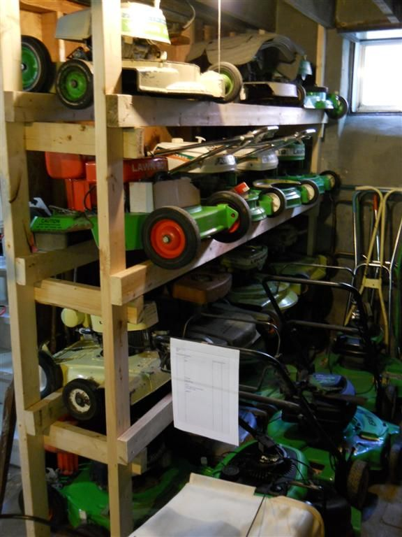 Image Result For Quot Storage Rack Quot Quot Mower Deck Quot Mowers