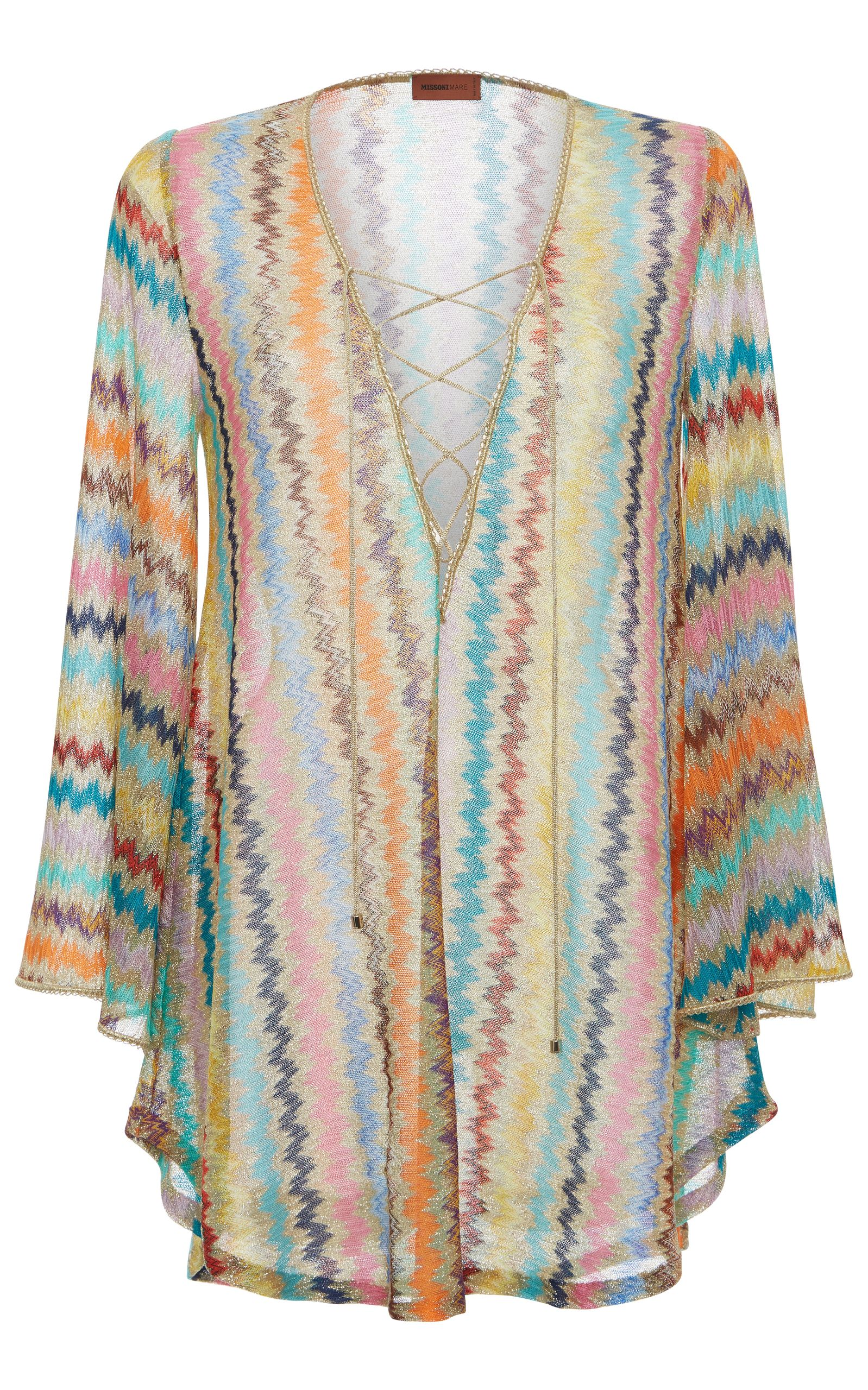 623cccc1e2 MISSONI MARE CHEVRON LONG SLEEVE COVERUP.  missonimare  cloth ...