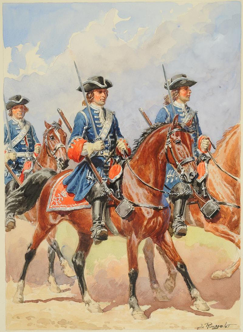 Gardes du corps de la maison militaire du roi 1790 1792 for Ancienne maison des gardes lourmarin france