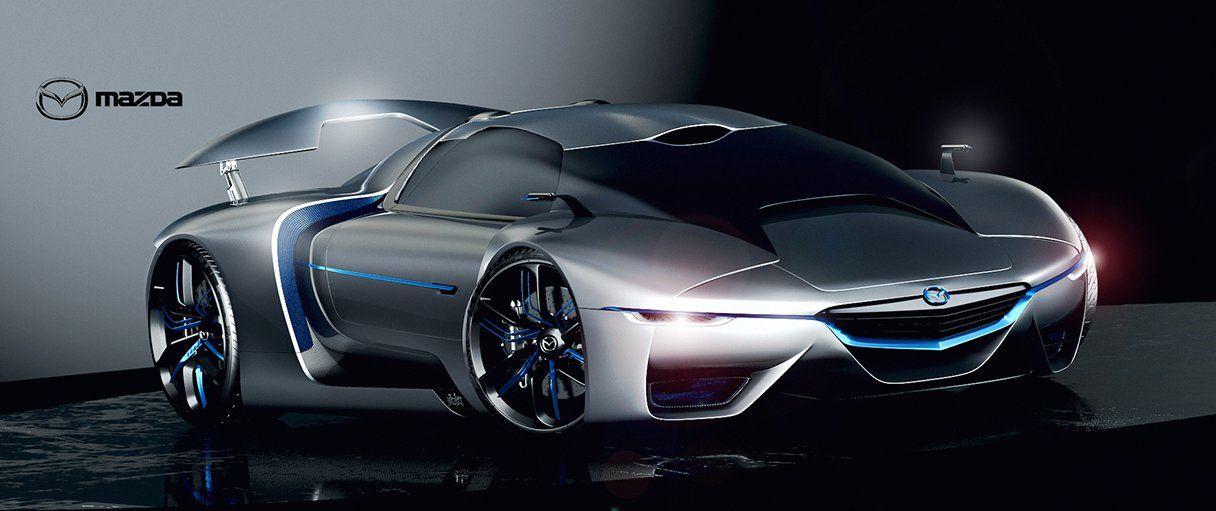 Mazda Concept Hypercar By Paul Breshke Mazda Pinterest