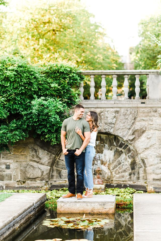 Mike + Lesley // A New Jersey Botanical Gardens Engagement