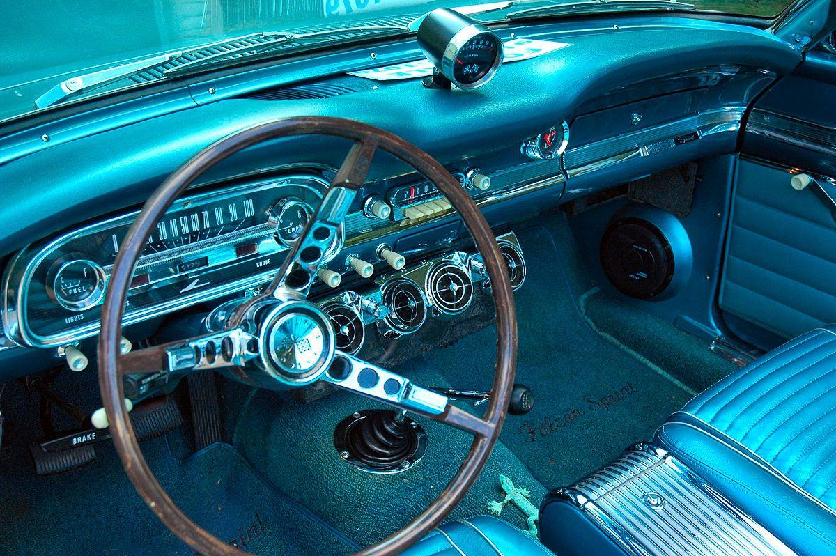 Ford Falcon I V8 4 Speed Sprint Convertible I Interior With Rare