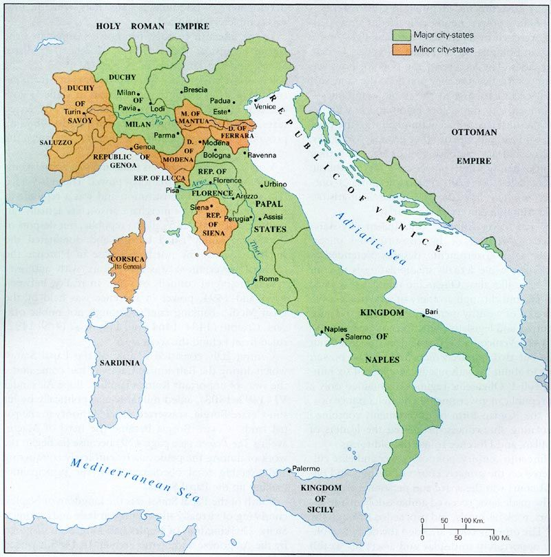 how the italian states differed from other states during the renaissance 1 during the renaissance, many italian people lived  been different from the  lives of peasants in the  source 1 the main city-states in renaissance italy.