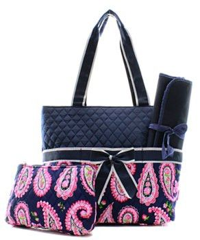 Paisley diaper bag 2 color choices simplysouthern personalizedmonogrammed navy paisley diaper bag mommy and me diaper onlydiaper bagmonogram diaper bag by on etsy negle Image collections