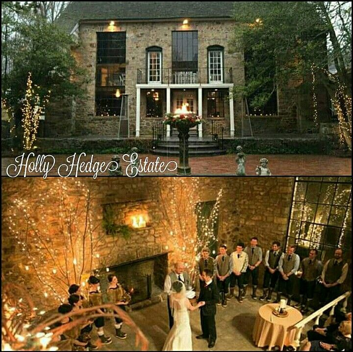 Wedding Venues In Pa: Holly Hedge Estate In New Hope PA, A Beautiful & Unique