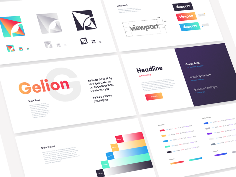 Logo Style Guide (With images) Style guide design